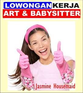 Lowongan PRT,ART dan BabySitter Wanita