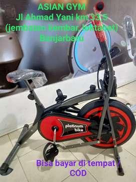 Ready sepeda statis bagus untuk terapi pasca stroke gratis rakit
