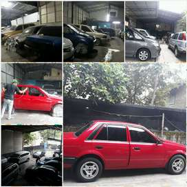 Bengkel Cat, Las Ketok and Body Repair Plus Salon Mobil ,lampu all ln
