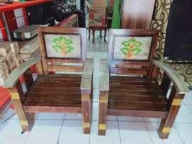 Kursi kayu jati asli full kayu jati merah