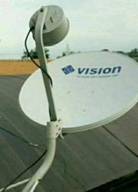 Indovision Mnc Vision family pack pasang baru sinyal terbaik luas