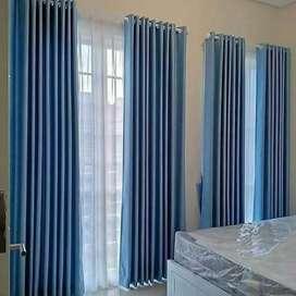 Gorden Curtain Blinds Gordyn Wallpaper Korden Tirai Hordeng A8.35br