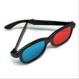 Kacamata 3D - H3 Glasses Plastic Frame Red Blue