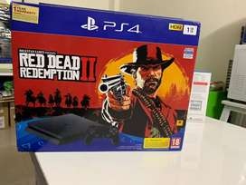 BRAND NEW PS4 SLIM 1TB WITH RED DEAD BUNDLE