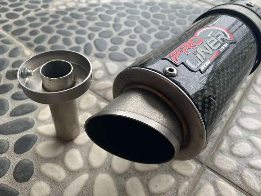Knalpot Racing Pro Liner Carbon Original