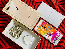 Iphone 8 plus 64 gb fullset mulus like new