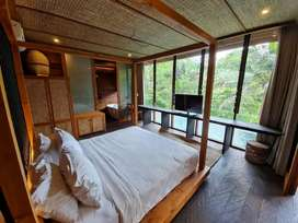 Villa Exotic Riverside di Ubud Full View