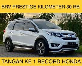 BRV Prestige 2016 KM 30rb Tgn Ke1 Record Honda Ori Total Seperti Baru