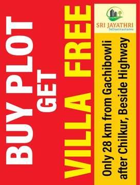 Invest 6 lakhs, get 8 lakhs in 3 months. Buy plot, get villa free