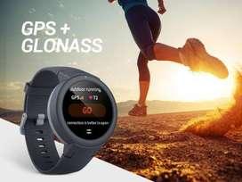 huami Amazfit Verge Lite Smartwatch  (White Strap, Regular)