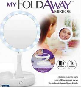 Magico Retractil Doble My Fold Away Mirror