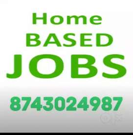 Simple data entry work at home  based job