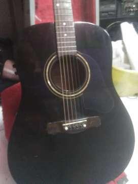 Gitar akustik elektrik SILVERTONE black beauty dreadnought jumbo