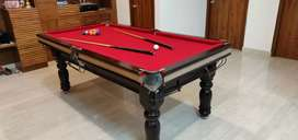 Snooker new and used some month available at cheap rate