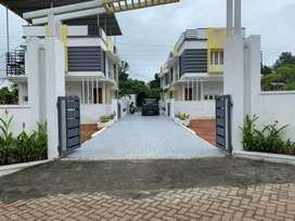 4.5 cent's land  with  3 bhk gated villa near civil station kakkanad.