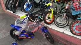 Sepedah anak merk maruya size 12
