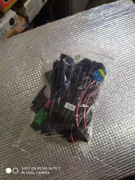Kabel set + switch foglamp avanza ( Megah top )