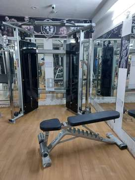 Get Complete health club new and heavy Duty Gym Equipment Setup.