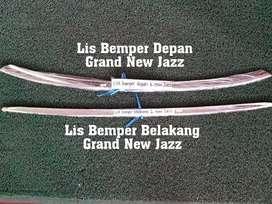 Minggu open obral List bemper belakang krom grand New Jazz
