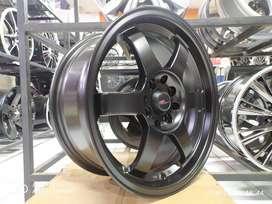 toko velg racing sigra ring 16 warna black free ongkir