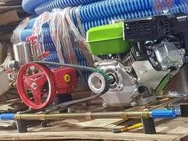 Steam cuci motor mobil mesin gx200 selang 20 m stick 2 buah complete
