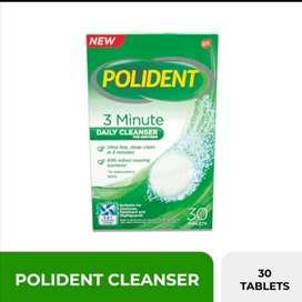 Polident  denture cleanser (utk gigi palsu)