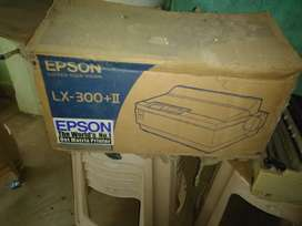 Fully New Condition EPSON LX 300+ll printer