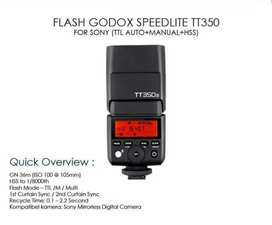 Flash Godox TT350S For sony Like New