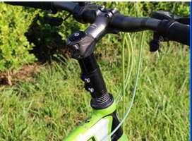 Extender atau Peninggi Stang Sepeda Warna Hitam
