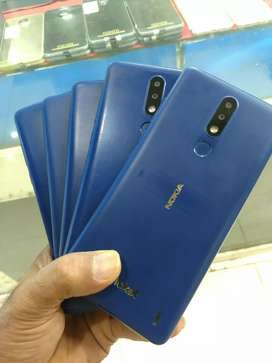 Nokia 3.1plus 9pie updated:sim block:3GB/32GB: 6.0 Display: 3500mAh