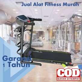 Treadmill Elektrik Total Fitness 1.5 hp TL 246 TERIMA COD