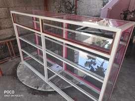 Aluminium shelf