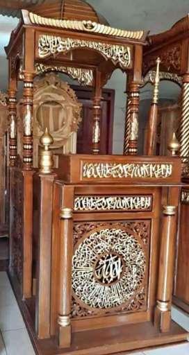 Mimbar masjid kubah tipe atap terbaru