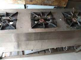 Commercial indian and chinese gas stoves