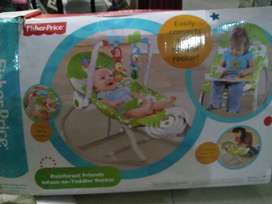 Baby swing rocker electric and manuall