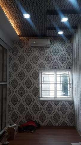 Wallpaper dinding & wallpaper plafon