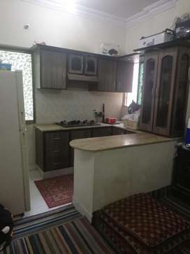 Lakhani Arcade 1 Bed west open apartment in Boudary wall millat garden