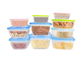 Food Containers Non Disposable Lunch Boxes storage fridge micro oven