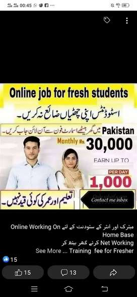Online jobs for male females