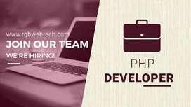Urgent require PHP Developer