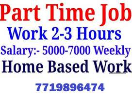 Office assistant and data entry work