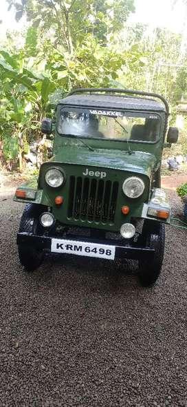 Mahindra international jeep