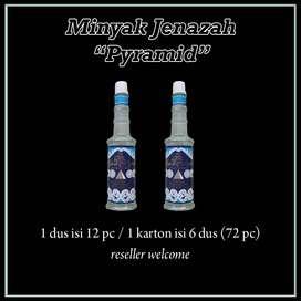 Minyak wangi Jenazah Pyramid isi 70ml langsung pakai wangi menthol