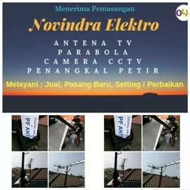 Pusat jual pasang antena tv murah lokasi Bekasi Barat