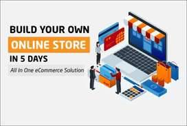 create ecommerce website wordpress, online store