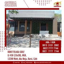 Disewakan Cafe/Resto Lokasi Strategis Bukit Telaga Golf