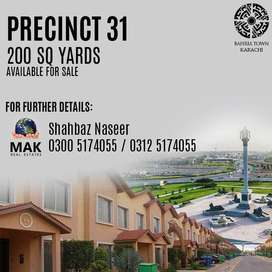 Precinct 31, 3 Beds Bahria Home.For Sale,