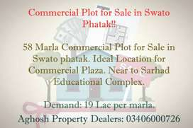 58 Marla Commercial Plot in Swato Phatak for Sale