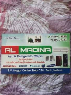 Ac & Refrigeration works