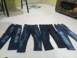 Kids Jeans(4 pants)